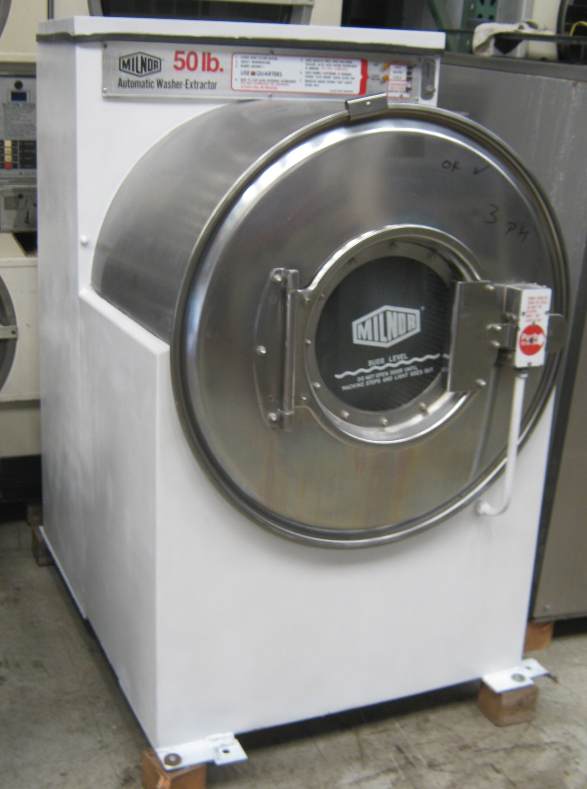 Milnor Washer Machines ~ Out of stock machines