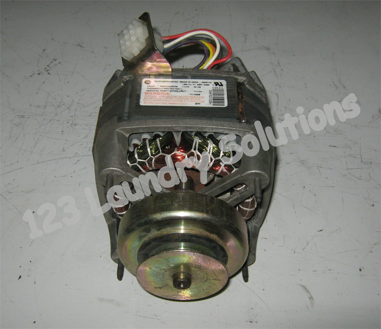 Ge Top Load Washer Motor 120v 1 2hp 5kcp160ffa001as
