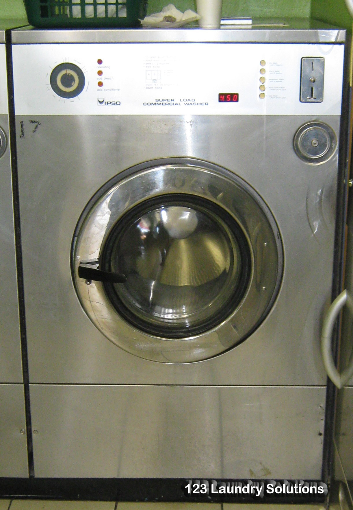 ipso 50 lb load washer extractor 3 ph 123 laundry solutions. Black Bedroom Furniture Sets. Home Design Ideas