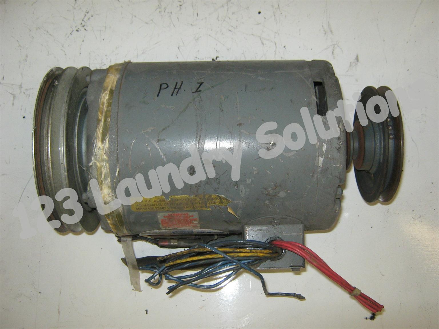 Milnor Washer Parts ~ Milnor front load washer lb motor ph v d zae ebay