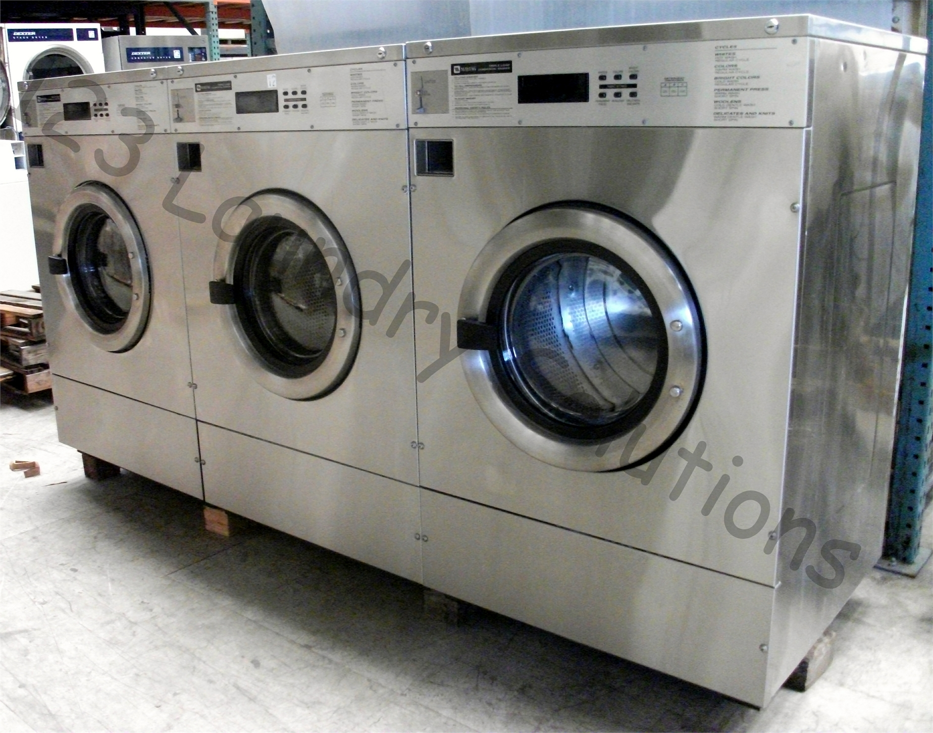Maytag Washer Extractor ~ Maytag lb front load washer v hz ph mfr pdavs