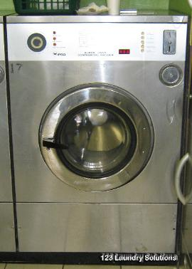 IPSO 50 lb front load washer, 3 PH