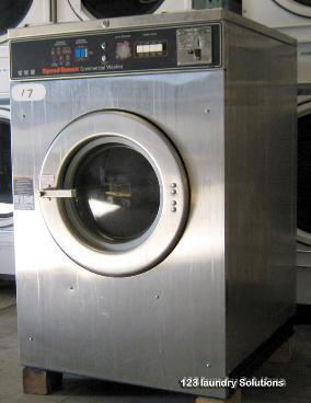 Speed Queen Triple Front Load Washer Opl Push To Start Ebay